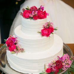 ウエディングケーキ の写真 3枚目