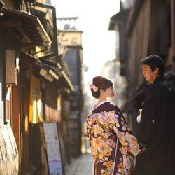和装後撮り 祇園の写真 7枚目
