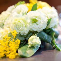 装花、ウェルカムスペース、プチギフトの写真 2枚目