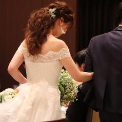 ウエディングドレス、ブーケの写真 20枚目