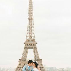 前撮り_パリの写真 3枚目