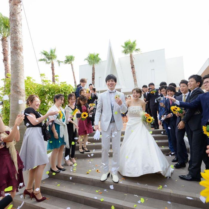 kazuchibi_weddingさんのオリゾンブルー(HORIZON BLEU)カバー写真