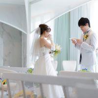 kazuchibi_weddingさんのオリゾンブルー(HORIZON BLEU)カバー写真 4枚目