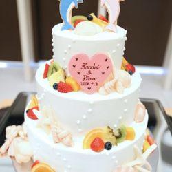 装花、高砂、ブーケ、ケーキの写真 2枚目