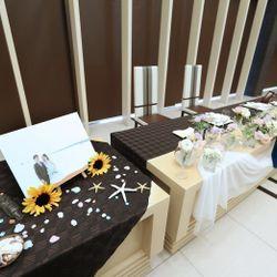 装花、高砂、ブーケ、ケーキの写真 4枚目
