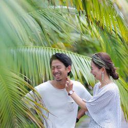 前撮り 沖縄  東南植物楽園の写真 1枚目