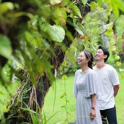 前撮り 沖縄  東南植物楽園の写真 11枚目