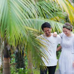 前撮り 沖縄  東南植物楽園の写真 4枚目