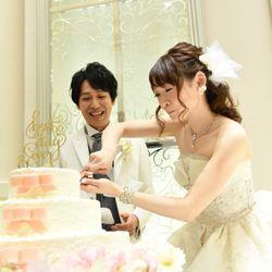ケーキ入刀〜ファーストバイトの写真 11枚目