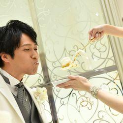 ケーキ入刀〜ファーストバイトの写真 13枚目