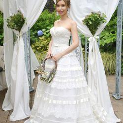 結婚パーティーウェディングドレスの写真 1枚目