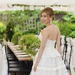 結婚パーティーウェディングドレスの写真 2枚目