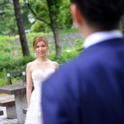 結婚パーティー前撮影の写真 3枚目