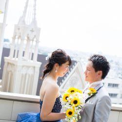 伊勢山ヒルズカラードレス前撮りの写真 9枚目