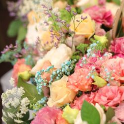 高砂、テーブル装花の写真 2枚目