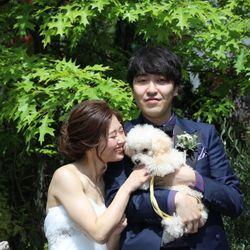犬と一緒にweddingの写真 2枚目