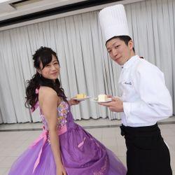 披露宴カラードレスの写真 25枚目