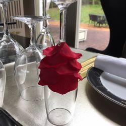 装花テーブルの写真 17枚目
