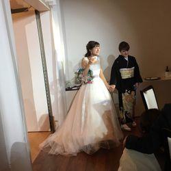 披露宴ウェディングドレスの写真 3枚目