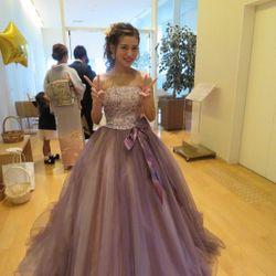 披露宴カラードレスの写真 1枚目