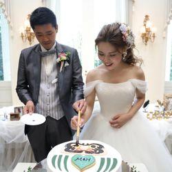 ウェディングケーキの写真 11枚目