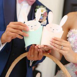花嫁の手紙〜お見送りの写真 3枚目