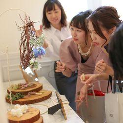 ゲスト作成リースブーケの写真 3枚目