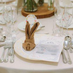 高砂 テーブル装花の写真 2枚目