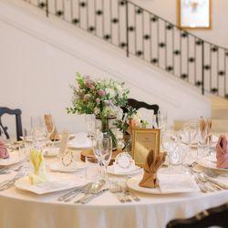 高砂 テーブル装花の写真 3枚目