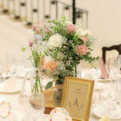 高砂 テーブル装花の写真 4枚目