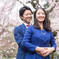 前撮り*桜エンゲージの写真 10枚目