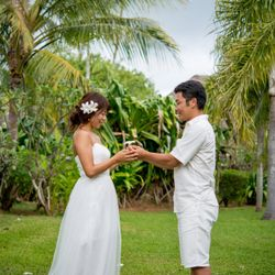 新婚旅行でのウエディングフォトの写真 11枚目