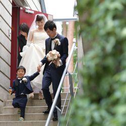 家族婚(リゾナーレ八ヶ岳)ロケーションフォトの写真 2枚目