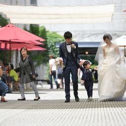 家族婚(リゾナーレ八ヶ岳)ロケーションフォトの写真 3枚目