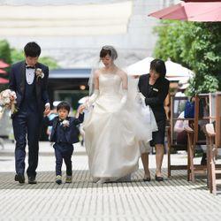 家族婚(リゾナーレ八ヶ岳)ロケーションフォトの写真 4枚目