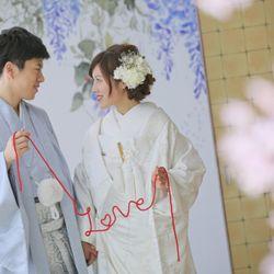 『Love』赤い糸diyの写真 1枚目