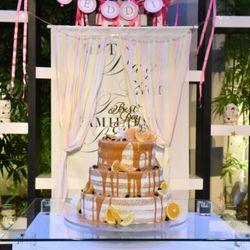 カラードリップケーキの写真 2枚目