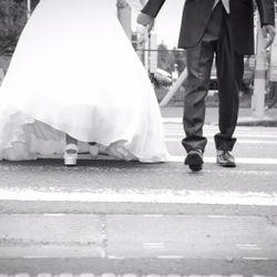 ウエディングドレス前撮りの写真 1枚目