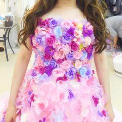 ★カラードレス衣装合わせの写真 3枚目