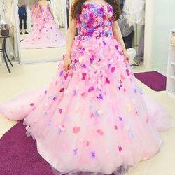 ★カラードレス衣装合わせの写真 4枚目