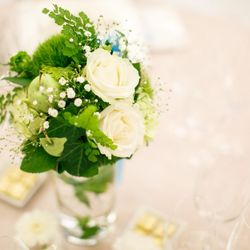 装花、会場の写真 2枚目