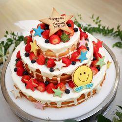 ウエディングケーキ&サプライズファーストバイトの写真 1枚目