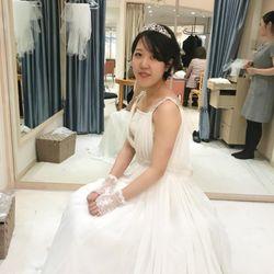ハワイウェディングドレスの写真 3枚目