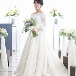 1.5次会ウェディングドレスの写真 4枚目