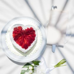 ハワイウエディングケーキの写真 2枚目