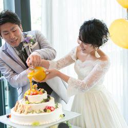 1.5次会ウエディングケーキの写真 1枚目