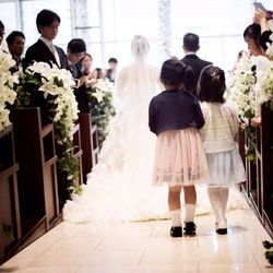 結婚式 入場の写真 3枚目