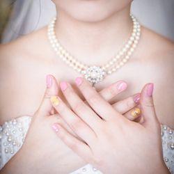 結婚式リハーサル風景の写真 1枚目