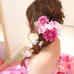 カラードレス♡ピンクライアスの写真 7枚目