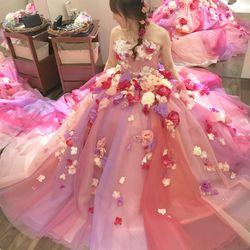 カラードレス♡ピンクライアスの写真 8枚目
